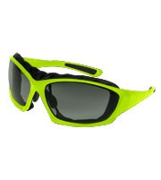 Super Safety TRIDENT Hi-Viz Yellow w/ Smoke Lens