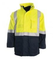 4 in 1 Combo Waterproof Jacket - Yellow / Navy