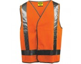 Day / Night Vest - Orange