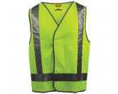 Day / Night Vest - Yellow