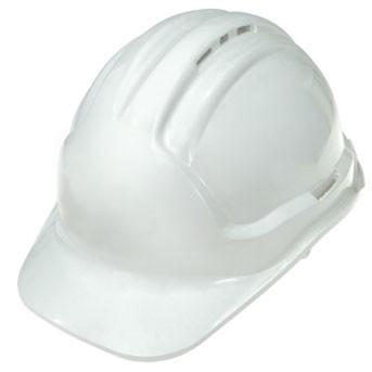 Super Safety Vented Hard Hat - White