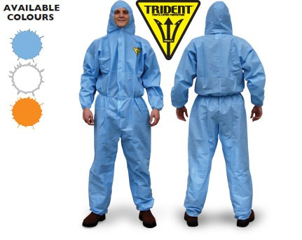 Trident SMS Disposable Coveralls