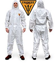 Trident MICROPOROUS Disposable Coveralls