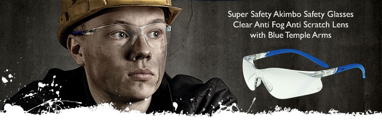 Super Safety Akimbo Safety Glasses
